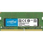 Crucial SO-DIMM DDR4 8 Go 3200 MHz CL22 SR X8 pas cher