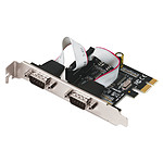 i-tec PCI-E 2x Serial RS232 pas cher