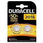 Duracell DL/CR2016 3V (par 2) pas cher