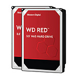 Western Digital WD Red 4 To SATA 6Gb/s (x 2) pas cher