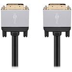 Goobay Plus Câble DVI-D 4K (1.5 m) pas cher