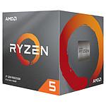 AMD Ryzen 5 3600X Wraith Spire (3.8 GHz / 4.4 GHz) avec mise à jour BIOS pas cher