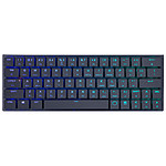 Cooler Master SK621 (Cherry MX RGB LP Red) pas cher