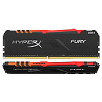 HyperX Fury RGB 32 Go (2x 16 Go) DDR4 2666 MHz CL16 pas cher