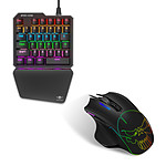 Spirit of gamer Xpert Gameboard-G700 + Xpert Gameboard-M700 pas cher