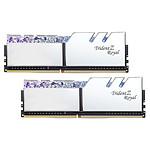 G.Skill Trident Z Royal 32 Go (2 x 16 Go) DDR4 4000 MHz CL18 - Argent pas cher
