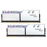 G.Skill Trident Z Royal 64 Go (2 x 32 Go) DDR4 3600 MHz CL18 - Argent pas cher