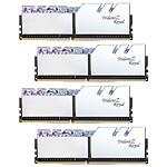 G.Skill Trident Z Royal 128 Go (4 x 32 Go) DDR4 3600 MHz CL18 - Argent pas cher