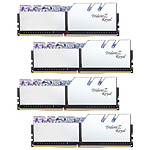 G.Skill Trident Z Royal 128 Go (4 x 32 Go) DDR4 2666 MHz CL19 - Argent pas cher