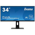 "iiyama 34"" LED - ProLite XUB3493WQSU-B1 pas cher"