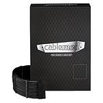 CableMod PRO ModMesh C-Series AXi, HXi & RM Cable Kit Noir pas cher
