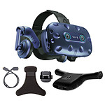 HTC Vive Pro Eye + Wireless Adaptator + Wireless Adaptator Clip pas cher