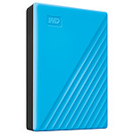 WD My Passport 4 To Bleu (USB 3.0) pas cher