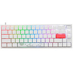 Ducky Channel One 2 SF RGB Blanc (Cherry MX RGB Speed Silver) pas cher