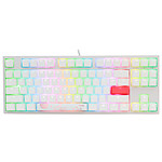 Ducky Channel One 2 TKL RGB Blanc (Cherry MX RGB Brown) pas cher