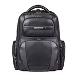 "Samsonite PRO-DLX LTH Backpack 15.6"" Noir pas cher"
