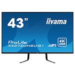 "iiyama 42.5"" - ProLite X4372UHSU-B1 pas cher"