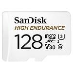SanDisk High Endurance microSDXC UHS-I U3 V30 128 Go + Adaptateur SD pas cher