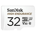 SanDisk High Endurance microSDHC UHS-I U3 V30 32 Go + Adaptateur SD pas cher