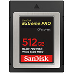 SanDisk Extreme Pro CFexpress Type B 512 Go pas cher