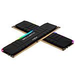 Ballistix Black RGB DDR4 32 Go (2 x 16 Go) 3200 MHz CL16 pas cher