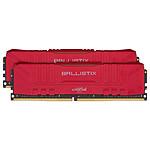 Ballistix Red 32 Go (2 x 16 Go) DDR4 2666 MHz CL16 pas cher