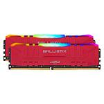 Ballistix Red RGB DDR4 64 Go (2 x 32 Go) 3200 MHz CL16 pas cher