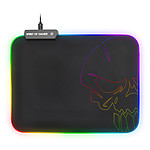 Spirit of Gamer Skull RGB Gaming Mouse Pad M pas cher