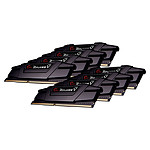 G.Skill RipJaws 5 Series Noir 64 Go (8 x 8 Go) DDR4 4000 MHz CL15 pas cher