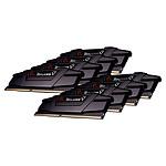 G.Skill RipJaws 5 Series Noir 256 Go (8 x 32 Go) DDR4 3600 MHz CL16 pas cher