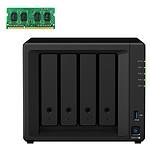 Synology DiskStation DS918+ + 4 Go de RAM (D3NS1866L-4G) pas cher