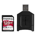 Kingston Canvas React Plus SDCR2/128GB pas cher