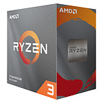 AMD Ryzen 3 3100 Wraith Stealth (3.6 GHz / 3.9 GHz) pas cher