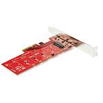 StarTech.com Carte contrôleur PCI Express 3.0 x4 vers SSD NVMe M.2 PCIe pas cher