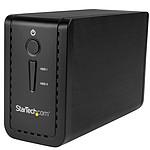 """StarTech.com Boîtier USB 3.1 pour 2 disques durs SATA de 3,5"""" (6 Gb/s) avec RAID JBOD pas cher"""