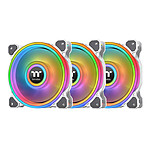 Thermaltake Riing Quad 12 RGB Radiator Fan White TT Premium Edition pas cher