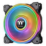 Thermaltake Riing Quad 12 RGB Radiator Fan TT Premium Edition Single Fan Noir pas cher