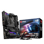 MSI MPG Z490 GAMING CARBON WIFI pas cher