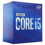 Intel Core i5-10400 (2.9 GHz / 4.3 GHz) pas cher