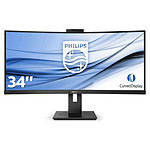 "Philips 34"" LED - 346P1CRH/00 pas cher"