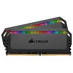 Corsair Dominator Platinum RGB 32 Go (2 x 16 Go) DDR4 3600 MHz CL14 pas cher