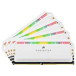 Corsair Dominator Platinum RGB 32 Go (4 x 8 Go) DDR4 3600 MHz CL18 - Blanc pas cher