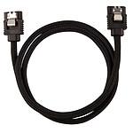 Corsair Câble SATA gainé Premium 60 cm (coloris noir) pas cher