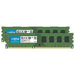 Crucial DDR4 64 Go (2 x 32 Go) 3200 MHz CL22 DR X8 pas cher