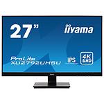 "iiyama 27"" LED - ProLite XU2792UHSU-B1 pas cher"