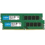 Crucial DDR4 16 Go (2 x 8 Go) 3200 MHz CL22 pas cher
