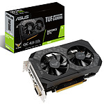 ASUS GeForce GTX 1650 TUF-GTX1650-O4GD6-P-GAMING pas cher