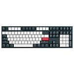 Ducky Channel One 2 Tuxedo (Cherry MX Speed Silver) pas cher