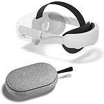 Oculus Sangle Elite Quest 2 + Travel Case + Batterie pas cher