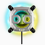 Corsair Hydro X Series XC9 Waterblock CPU RGB - Argent pas cher
